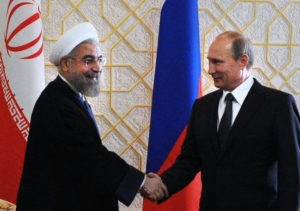 assan Rouhani e Vladimir Putin in Iran immagine da Energy and Capital