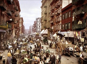 Manhattan's Little Italy XIX secolo. Immagine da TIME.com