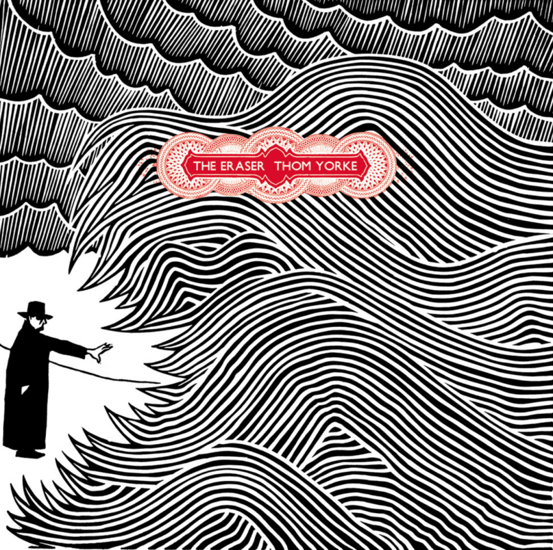 """The Eraser - Thom Yorke"" la copertina dell'album"