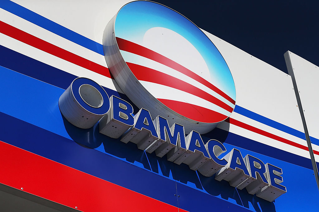 Logo dell'Obamacare immagine da New York Post