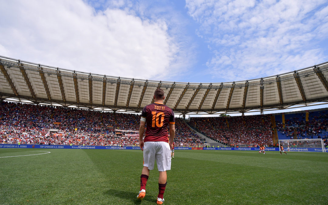 Francesco Totti, l'ultimo re di Roma
